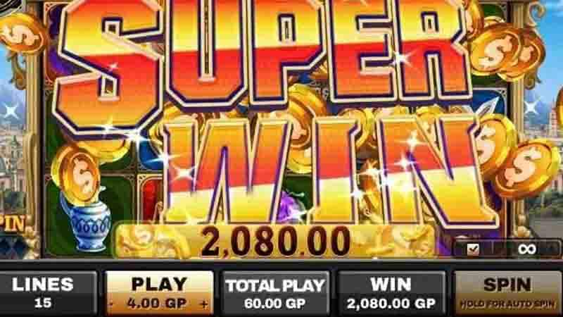 A detailed view of direct online slot games